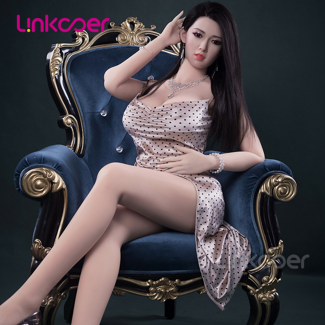 Linkooer 166cm Sex Doll Silicone Sexy Japanese Lady With Big Boobs Big Ass Adult toys for Man Pussy Anus sex