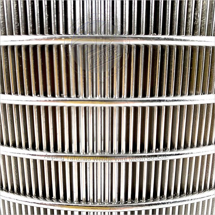 Сварные 304 сито из нержавеющей стали цилиндр Слот Хорошо Johnson сварные щелевые