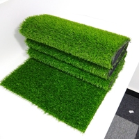 Golf artificial grass / Soccer field grass play mat sports flooring