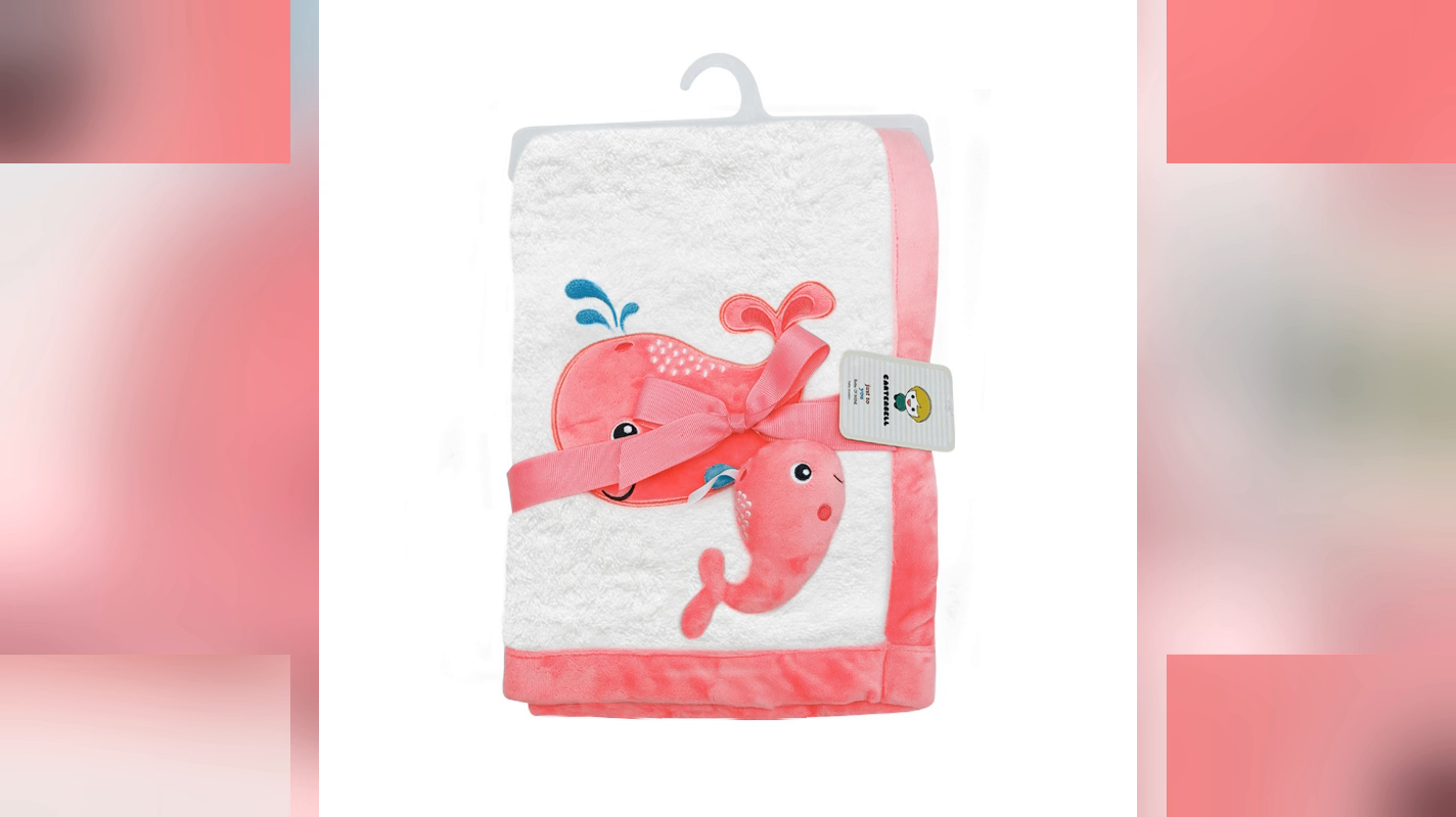 Wholesale Lovely Baby Blanket Unisex Toy Voice Soft Baby Blanket Thin Cartoon Baby Blanket Kids For Sale