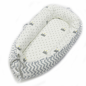MEEKA HOUSE 2020 Perfect Baby Nest for Co Sleeping with Parents Detachable&Washable Case with Warm Breathable 100% Cotton