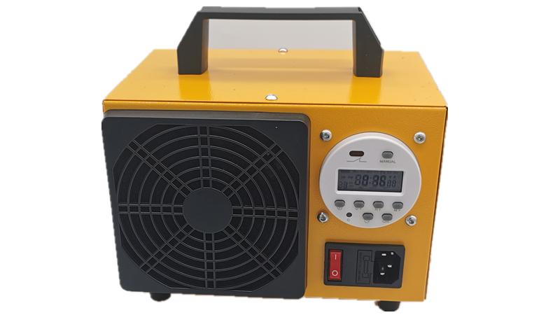 HF120 AC220V Generator Ozon Portabel DIY, Mesin Ozonizer Udara Pelat Keramik Terintegrasi Ganda 10G