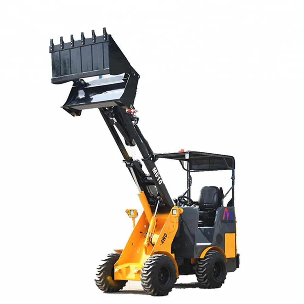 philippines tractor wood skip loader with towable boom lift backhoe
