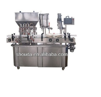 Chinese Fresh chili sauce filling machine from Shanghai
