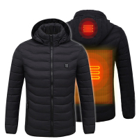 2019 New Stylish Women and Men's Rechargeable Battery Heated Jackets Waterproof