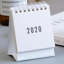 2020 Простая Офисная украшения катушки календаря настольных календарей компактный ежедневного расписания планировщик(Китай)