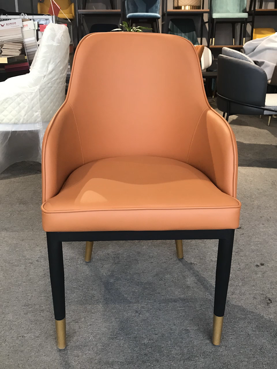 Modern cafe chairs and tables ( NY8017 & NY8027 )