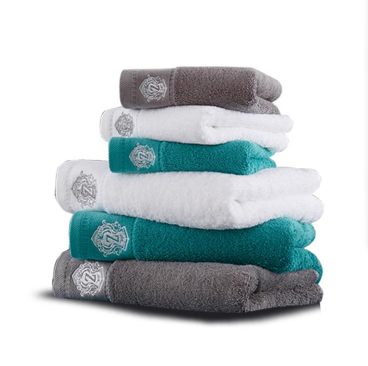 Оптовая продажа одноцветные хлопковые банные полотенца большого размера хлопковые Банные полотенца