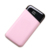 The big screen charger color power banks 10000mah  customized LOGO pink blue