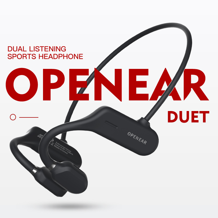 Wireless Sports Headphones Bone Conduction Wireless Headsets for OPENEAR DUET