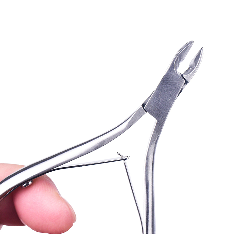 Professional manicure pedicure tool stainless steel cuticle cutters clipper scissors nail cuticle cutter