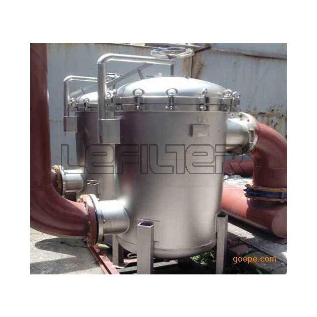 50 micron irrigation water bag filter unit