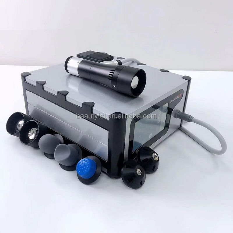 Vacuum suction physical shock wave body massage machine / shockwave treatment for Tennis elbow/houlder pain