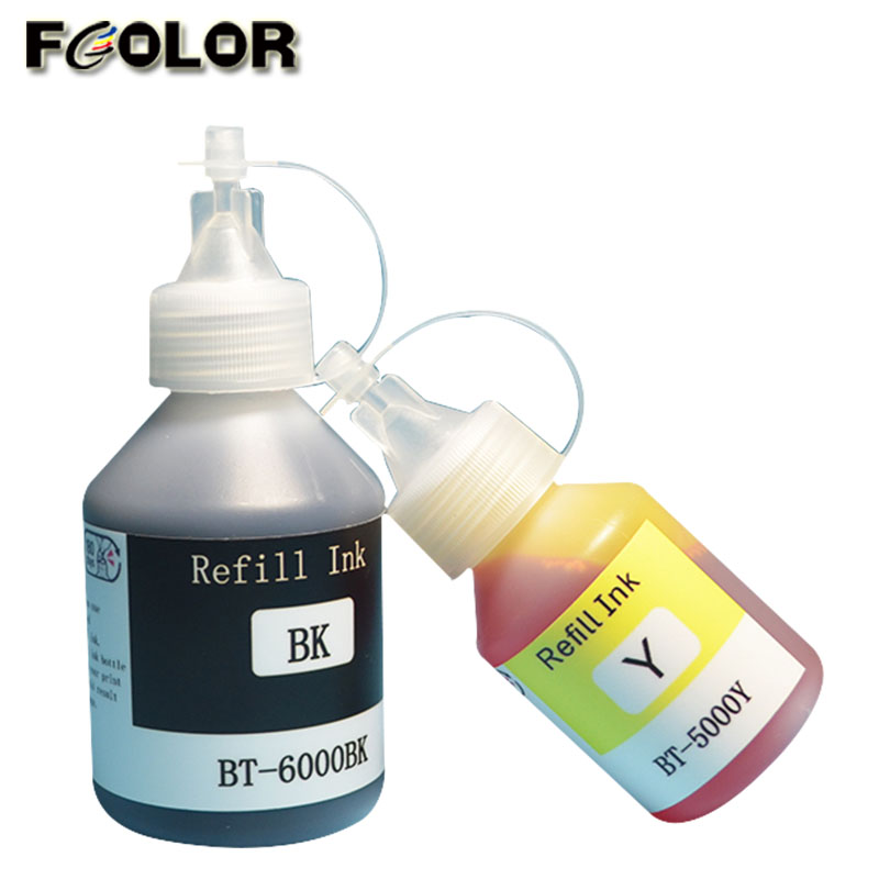 Fcolor באיכות גבוהה מילוי דיו הדפסת צבע דיו לאח DCP-T300 T500W T700W T800W