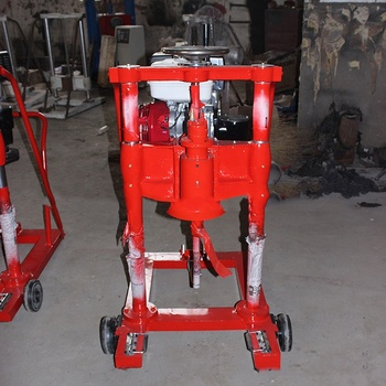 Ground drilling machine for building construction