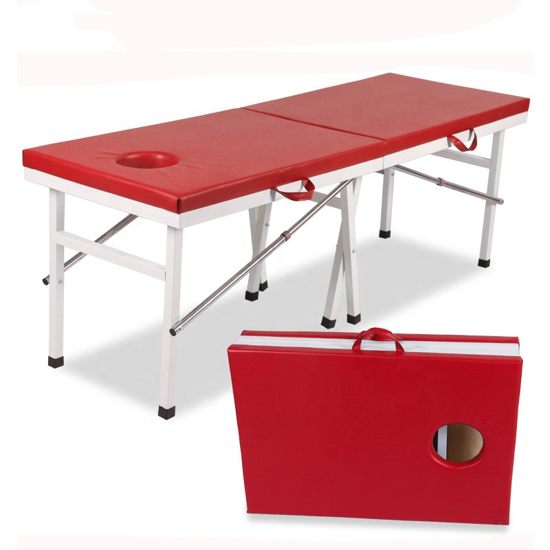 Strengthen Eight legs Best Portable Massage Table Various of Massage Bed