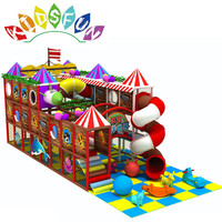 2019 High quality Leisure Time Adventure clubhouse swing set indoor play area for kids