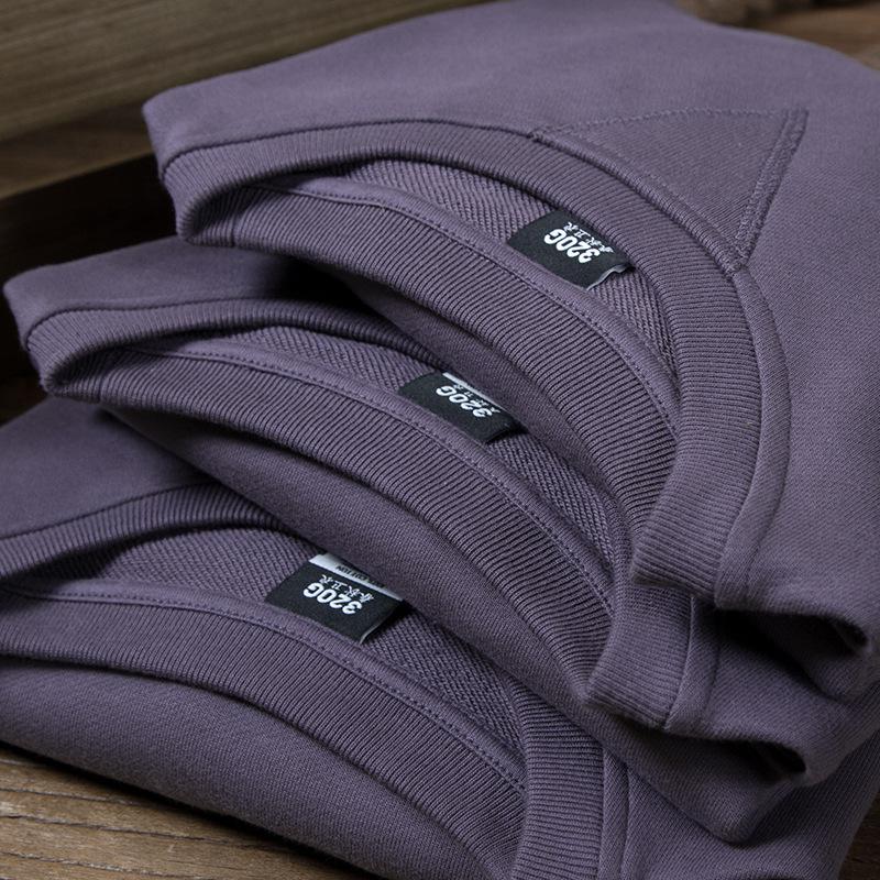 Custom Violet  Plain Blanket Printed  Anime Designer Stitching Embossed Fleece  Crew Neck Hoodies Sweatshirt Womens