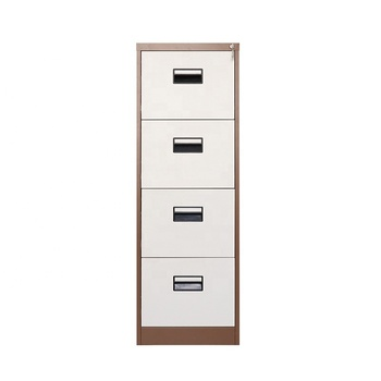 Top Rated Office Furniture Steel Storage Cabinet 4 Drawer File Cabinet