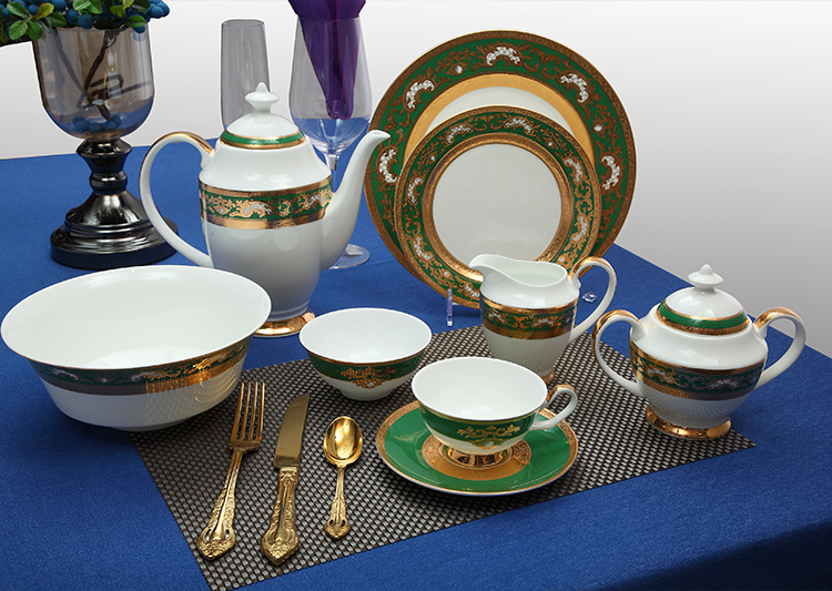 decal dinnerware sets