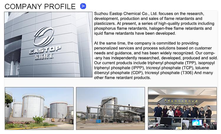 Hoge-Fosfor Inhoud Textiel Vlamvertragende Triethyl Fosfaat