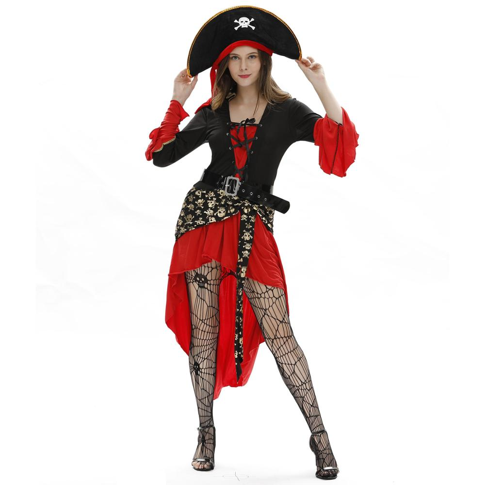 Female Sexy Pirate Costumes Cosplay Uniform Plus Size Temptation Sexy Costumes Adult Plus Size