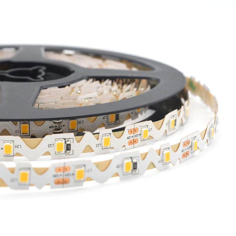 S Shape LED Strip 2835 Flexible LED Light Strip DC 24V 60LED/m High Quality S Bending Channel Letter S Type 5 meter/roll