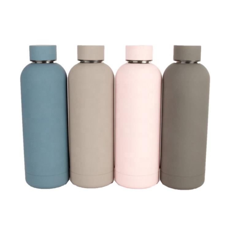 350 ML/500 ml/750 ml डबल दीवार हाइड्रो थर्मस कप वैक्यूम बोतल स्टेनलेस स्टील अछूता बच्चों पानी बोतल Hydroflask