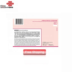 8 days unlimited data mobile phone sim card for travel
