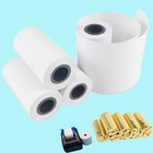 100% Wood Pulp [ Bank Color Paper ] Paper Roll Paper 57mm Mada Pay Bank Color Logo Pre-Printed Bill Printer Debit Thermal Paper Rolls 57x40 Thermal Paper