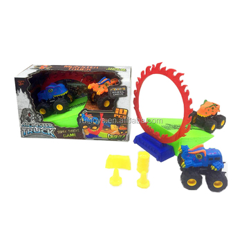 Cheap Plastic Animal Car Toy Mini Monster Truck 4x4 for Sales