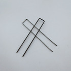Staples Garden Pegs Garden U Shape Pins Galvanized Steel Wire Garden Staples