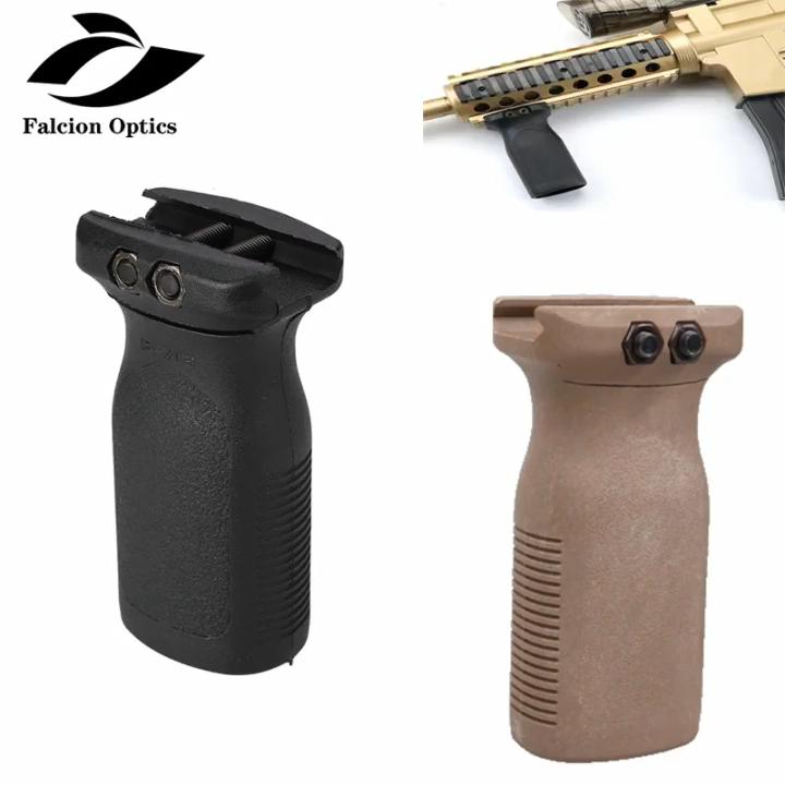 ปืนไรเฟิลAR15ปืนไรเฟิลโพลิเมอร์,ใหม่ยุทธวิธีปืนอัดลมRVGแนวตั้งกริปของเล่นที่ป้องกันมือ20มม. พิคาทินนีเรล