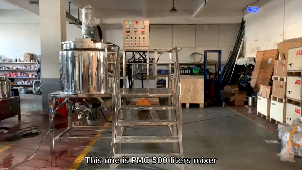 स्टेनलेस स्टील के पानी सम्मिश्रण मिश्रण टैंक शैम्पू उत्पादन लाइन हाथ प्रक्षालक तरल साबुन बनाने मशीनों