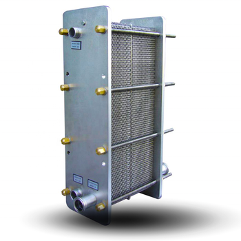 Oil Press Coolers Hydraulic Air Cooled Plate Heat Exchanger