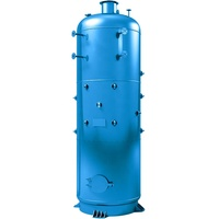 Small vertical steam solid fuel boiler 400 KW 500KW