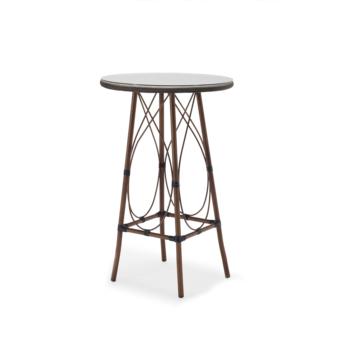 Tavoli In Plastica Per Bar.4 Posti Telaio In Alluminio Di Plastica Top In Tessuto Caffe Orso