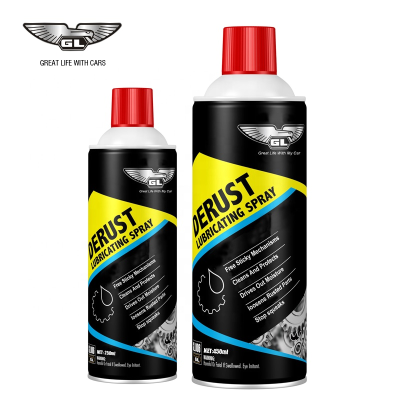 Wholesale Rust Remover Lubricant Spray 200ml and 450ml anti rust lubricant oil