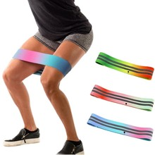 Hot Sale Latihan Resistance Band Hip Lingkaran Kebugaran OEM Disesuaikan Logo Hip Band