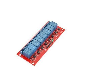 8 Channel 5v Relay Shield Module For Arduino Uno 2560 1280 Arm Pic Avr  Stm32 - Buy 8-channel 5v Relay,8 Channel Relay,8 Channel 5v Relay Shield  Module