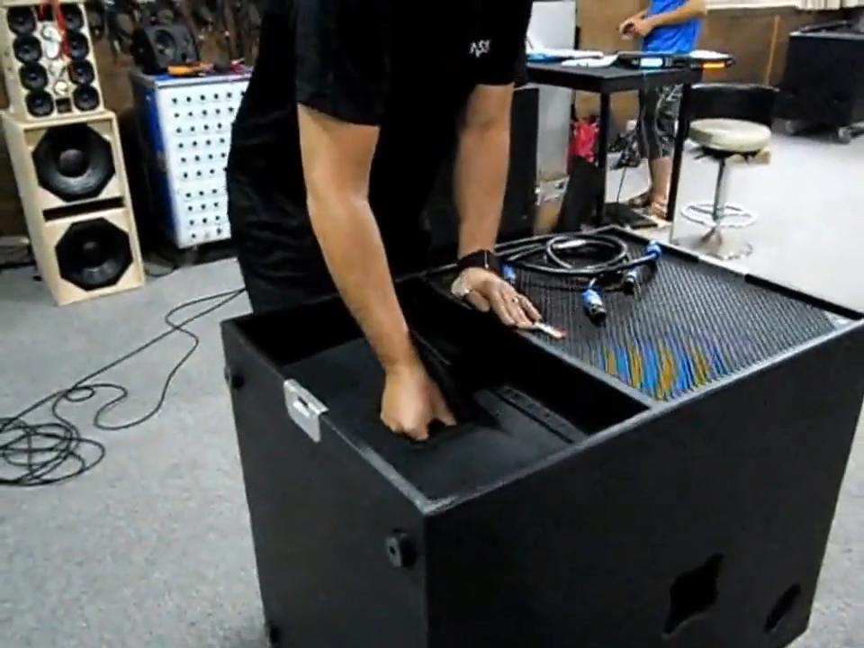 Tasso Activeลำโพงซับวูฟเฟอร์Professional Audio Video DjเสียงระบบPAลำโพงLine ArrayสำหรับT2 Sound Box