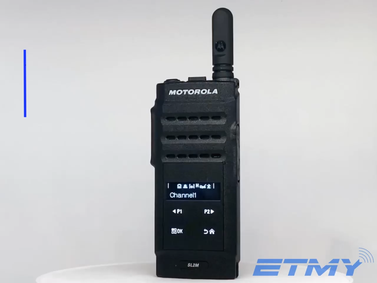 स्लिम मोटोरोला मिनी MOTOTRBO पोर्टेबल 136-174 MHz 403-470 MHz SL2M/SL500e वॉकी टॉकी