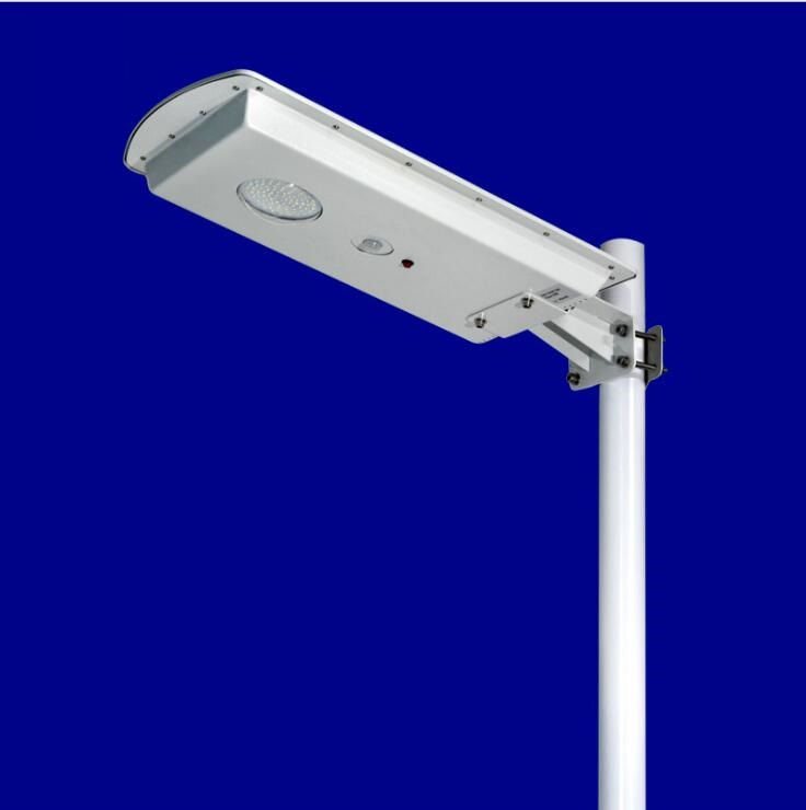 Outdoor All In One Solar Street Lamp Price  Integrated Led Solar Street Light