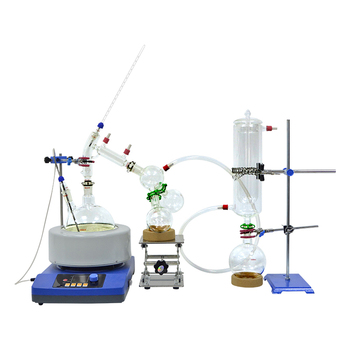 distillation equipment cheap price 2L shortpath distillation