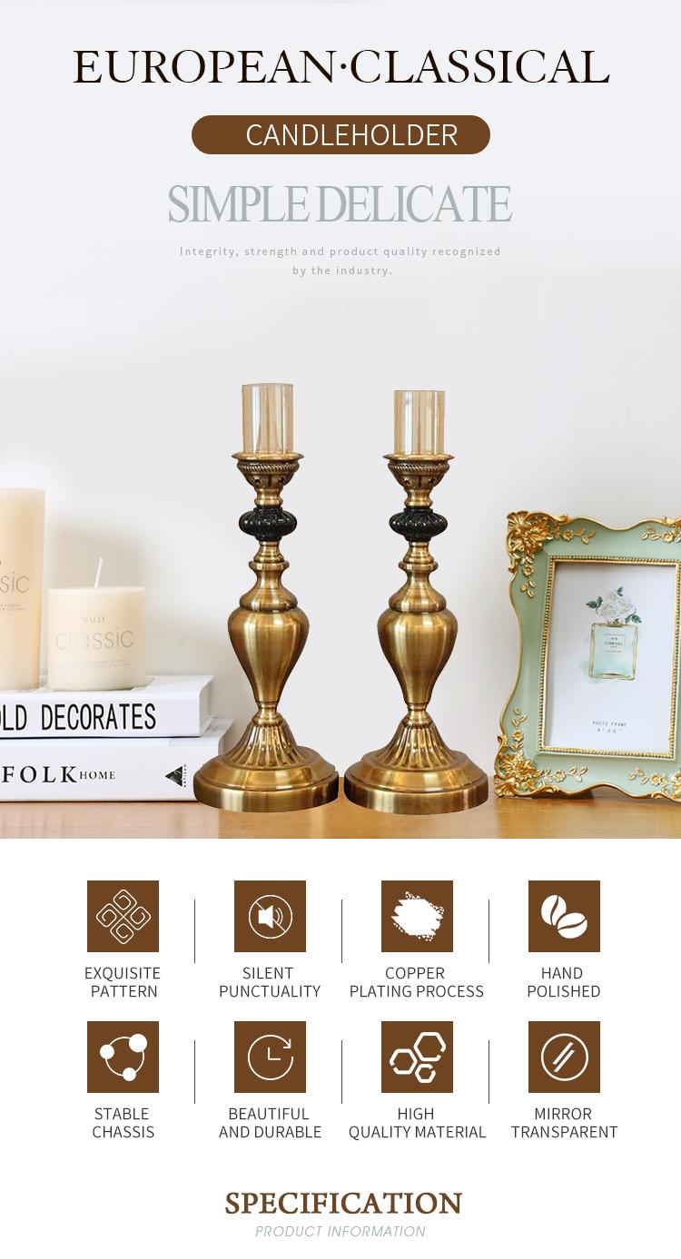 Vintage Style Mental Candle Holder Candelabra Candleholder For Home Table Deco Buy Mental Candleholders Antique Candle Holder Gold Color Metal Candlestick Product On Alibaba Com