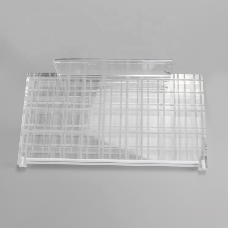 Apex new design clear acrylic  shoe display rack stand