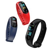 Popular wristband Smart Watch Android New Sport Water Proof Bluetooth New Army M3 Smart Watch Bracelet