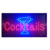 Bar Open Sign Led Neon Light Sign Electric Display Sign 19x10inch Two Modes Flashing and Steady Light for Business