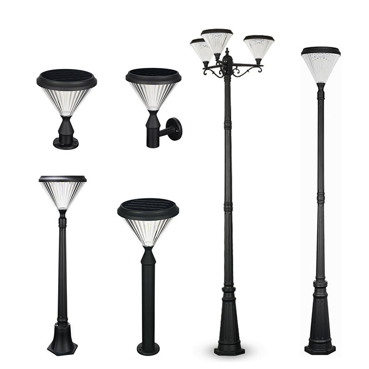 Led Solar Lights Outdoor Garden Waterproof Modern Decorations