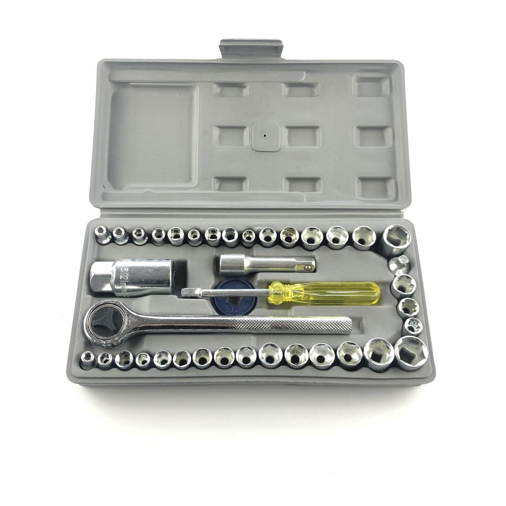 OEM 아연 도금 플라스틱 미니 도구 세트 도구 키트